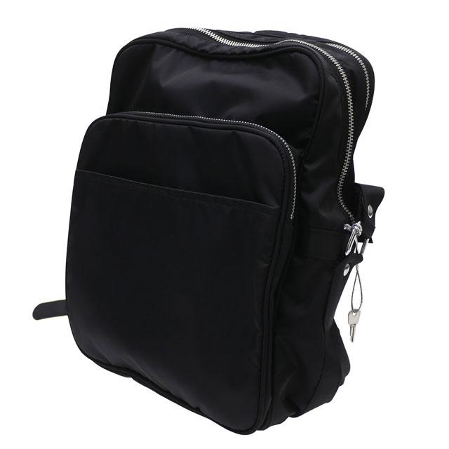 メンズバッグ, ショルダーバッグ・メッセンジャーバッグ  BLACK COMME des GARCONS SHOULDER BAG M BLACK