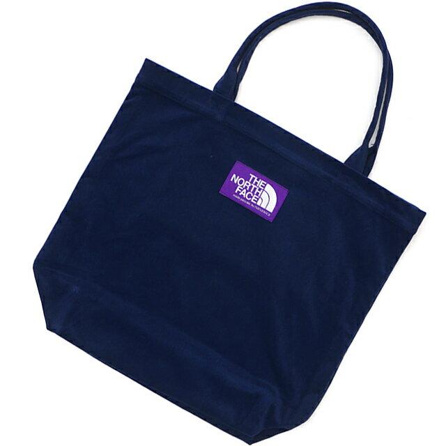 男女兼用バッグ, トートバッグ  THE NORTH FACE PURPLE LABEL Corduroy Tote Bag N NAVY NN7955N