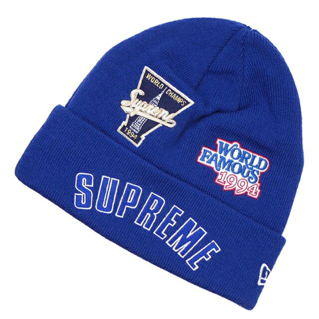 メンズ帽子, ニット帽  SUPREME New Era Championship Beanie ROYAL