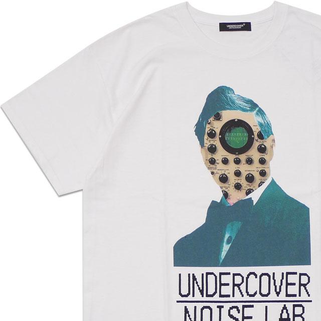 トップス, Tシャツ・カットソー 20213 14:00 UNDERCOVER TEE UC NOISE LAB FACE T WHITE 39