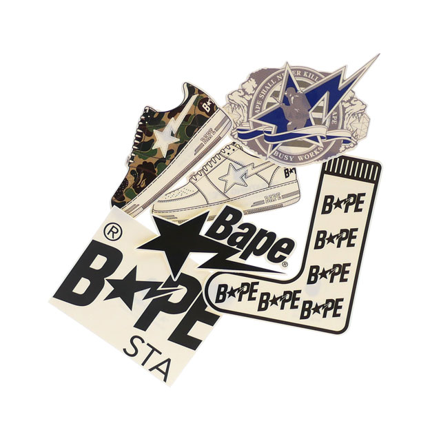 バッグ・小物・ブランド雑貨, その他 44() 15:0045()23:5910!! A BATHING APE 20SS BAPE STA STICKERS SET 6 MULTI 2020SS 20SS 1G20182021
