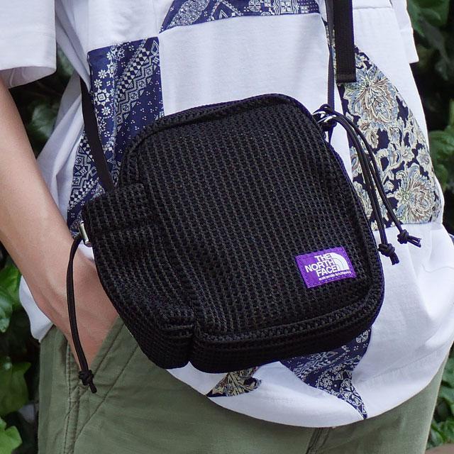 メンズバッグ, ショルダーバッグ・メッセンジャーバッグ  THE NORTH FACE PURPLE LABEL Mesh Shoulder Bag K(BLACK) NN7012N