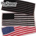【2021年3月度 月間優良ショップ受賞】 新品 ロンハーマン Ron Herman Flag Face towel 星条旗 フェイス タ...
