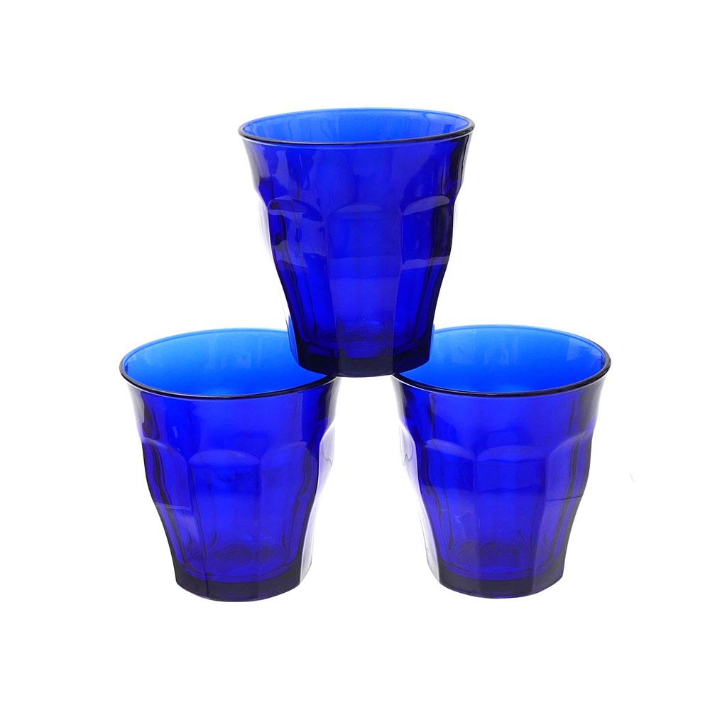Ron Herman x DURALEX PICARDIE SAPPHIRE GLASS 3PCS