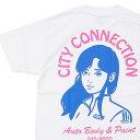 新品 オンエアー ON AIR City Connection S/SL Tee Tシャツ WHITE ホワイト 白 メンズ 新作