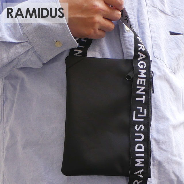 メンズバッグ, アクセサリーポーチ 20213 RAMIDUS x Fragment Design POUCH BLACK 39