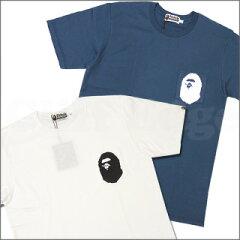 【2011新作・2カラー】A BATHING APE(エイプ)POCKET APE HEAD Tシャツ【新品】200-003796-057[1...
