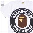 A BATHING APE (エイプ) BIG BUSY WORKS TEE (Tシャツ) 1D30-110-079 200-007397-050-【新品】