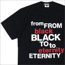 BLACK COMME des GARCONS(ブラック コムデギャルソン) F.B.T.E TEE (Tシャツ) BLACK 200-007490-051x【新品】