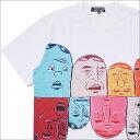 【2021年3月度 月間優良ショップ受賞】 COMME des GARCONS HOMME DEUX コムデギャルソン オムドゥー x Barry McGee FACE TEE Tシャツ WHITE 200007709040 【新品】