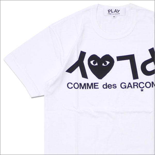 トップス, Tシャツ・カットソー  PLAY COMME des GARCONS MENS PLAY HEART LOGO TEE T WHITE 200007757030