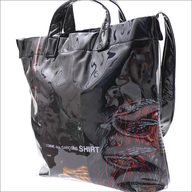 メンズバッグ, ショルダーバッグ・メッセンジャーバッグ !!!! 117() 20!! COMME des GARCONS SHIRT PVC SHOULDER BAG BLACK 277002521011
