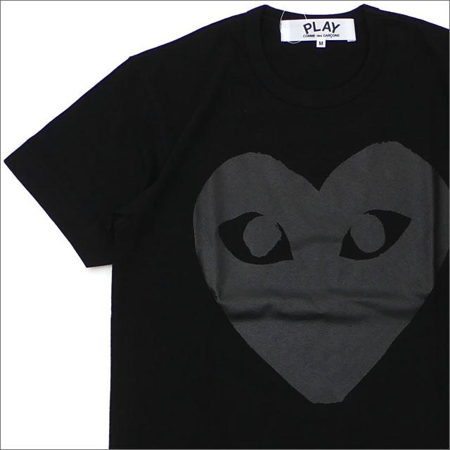 トップス, Tシャツ・カットソー  PLAY COMME des GARCONS MENS BLACK HEART TEE T BLACK 200007901031