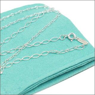 Tiffany&Co.(Tiffany) 純銀橢圓形鏈 91 cmSILVER 267-000066-362