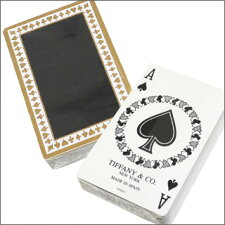 TIFFANY&CO.(ティファニー)トランプ【新品】WHITE&BLACK290-000751-010