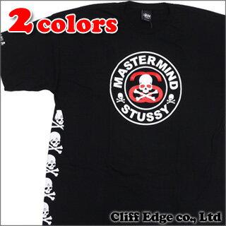 mastermind JAPAN x STUSSY Circle Skull Tシャツ 200-005243-061+