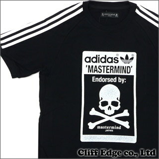 mastermind JAPAN x adidas Originals GLASS BEADS TEE [Tシャツ] BLACKxSILVER 200-005498-032+【...