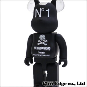NEIGHBORHOOD x MEDICOM TOY 400% BEARBRICK [ベアブリック]BLACK 283-000332-011+【新品】【smtb-TD】【yokohama】