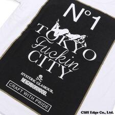 NEIGHBORHOOD(ネイバーフッド)xHYSTERICGLAMOUR(ヒステリックグラマー)NHHG-2/C-TEE.SS(Tシャツ)WHITE200-006774-030-【新品】