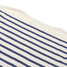 NEIGHBORHOOD(ネイバーフッド)FABRICES/C-BN.LS(カットソー)(バスクシャツ)WHITE202-000776-040-【新品】