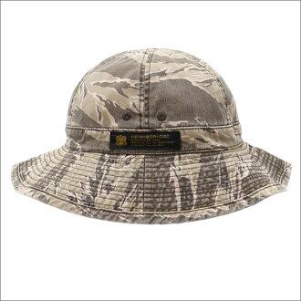 NEIGHBORHOOD(neibafuddo)CREW.TIGER/C-HAT(帽子)TIGER STRIPE 252-000343-049-