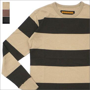NEIGHBORHOOD(ネイバーフッド) B.D./C-CREW.LS (長袖Tシャツ) 181NYNH-SHM01 216-001539-051-【新品】