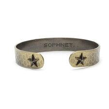 SOPHNET.(ソフネット)STARENDBANGLE(バングル)(ブレスレット)GOLD269-000320-018x【新品】