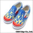 VANS (バンズ)CLASSIC SLIP-ON (Flame)(スリッポン)(スニーカー)(シューズ) SkydiverVN-0ZCRFEY 831-000257-128+【新品】