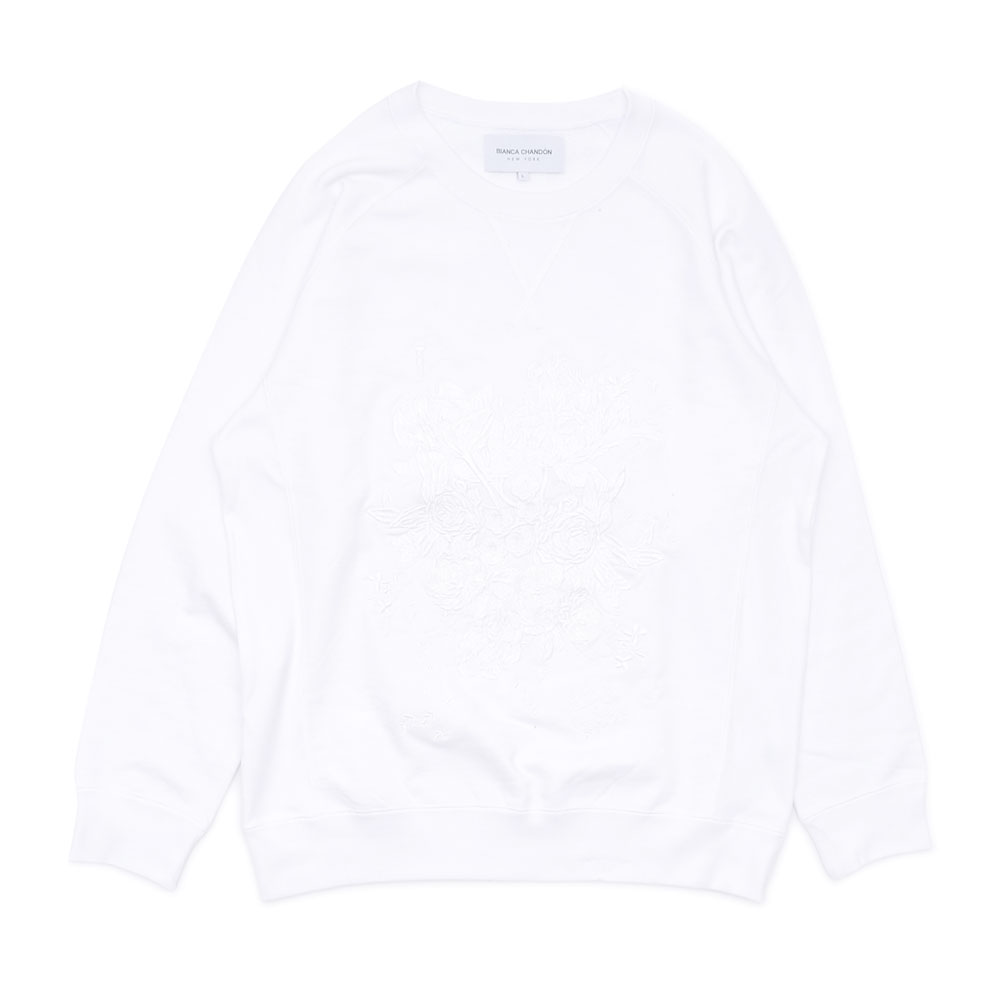 6794d37b71b7d0 Here comes a sweatshirt with dainty flower embroidered on the front!! Don t  miss this nice item!!