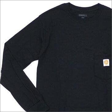 【2021年3月度 月間優良ショップ受賞】 【期間限定特別価格!!】 917 ナインワンセブン Nine One Seven Workman Long Sleeve Tee 長袖Tシャツ BLACK 202000934131 【新品】