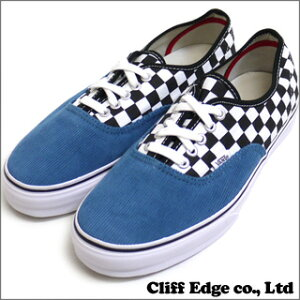 SUPREME x VANS Checkered AUTHENTIC [オーセンティック] [シューズ] ICE BLUE 291-001177-284-【新品】VN-OQOD6VQ【smtb-TD】【yokohama】