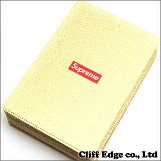 Cliff Edge | Rakuten Global Market: SUPREME Gold Deck of Cards (cards) GOLD 290-002832-018x