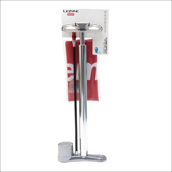 SUPREME(シュプリーム) Lezyne CNC Bike Pump (バイクポンプ)(空気入れ) SILVER 290-003872-012+【新品】:Cliff Edge