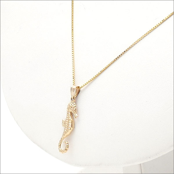 Supreme seahorse gold pendant mozeypictures Images
