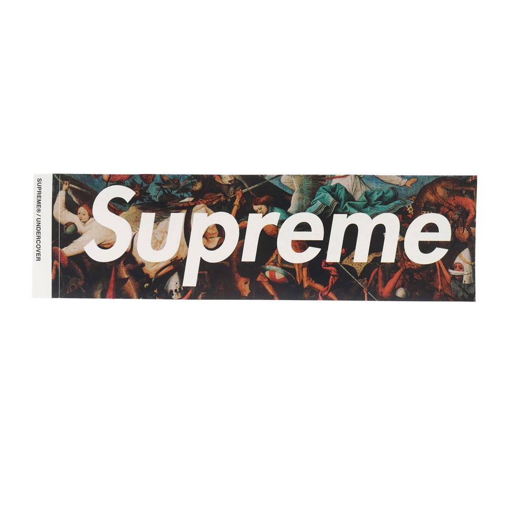 Supreme X Undercover Undercover Box Logo Sticker