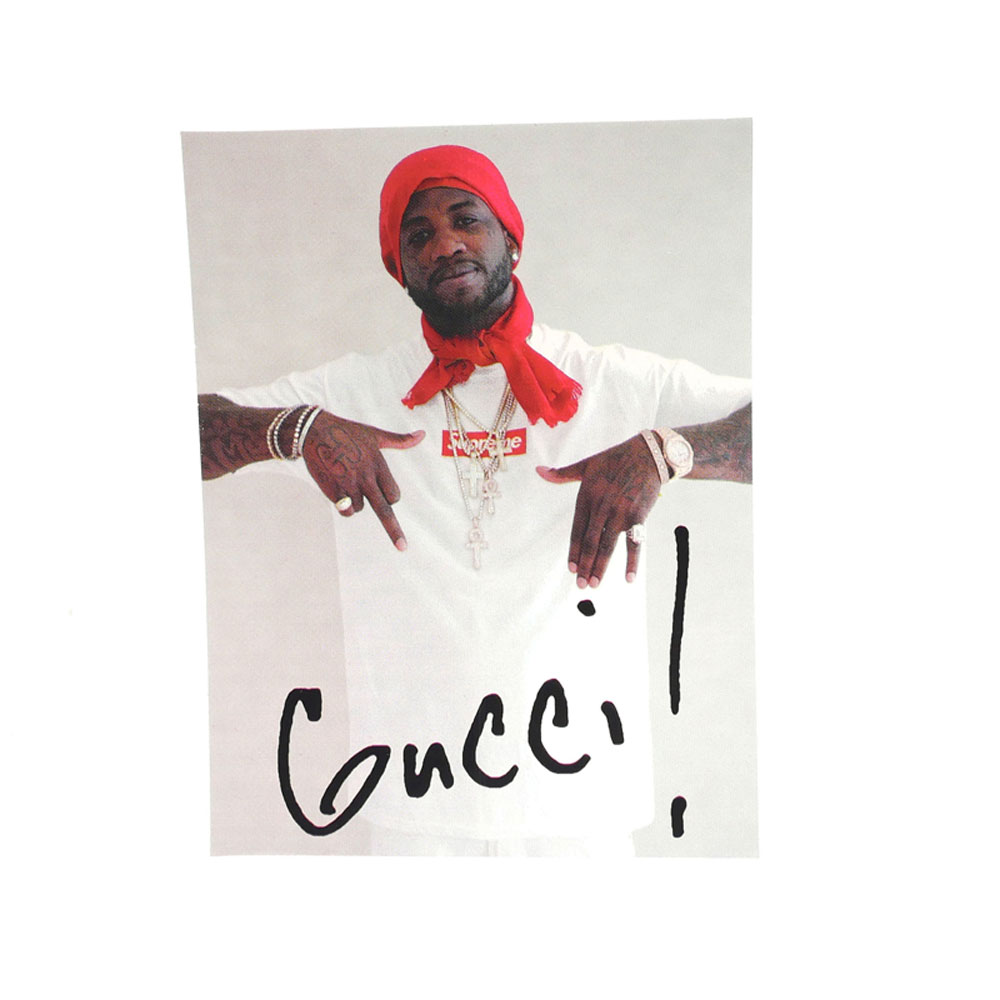 supreme gucci mane sticker millioncart