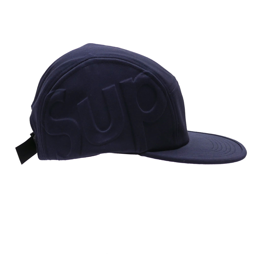 8f60cb85139 Here comes a unique camp cap with the big SUP logo embossed on the side.  Don t miss this impressive item! SUPREME caps are popular among both men  and women!