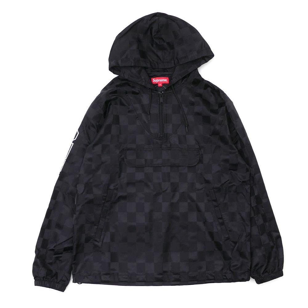 Nylon Hooded Pullover 23