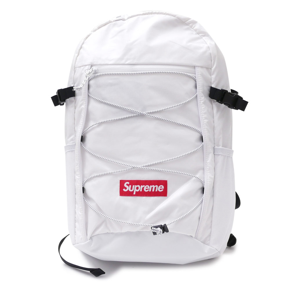 All White Supreme Backpack- Fenix Toulouse Handball 7bbc1c8cabd3c