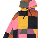 シュプリーム SUPREME Patchwork Hooded Sweatshirt スウェットパーカー BLACK 211000504131 【新品】