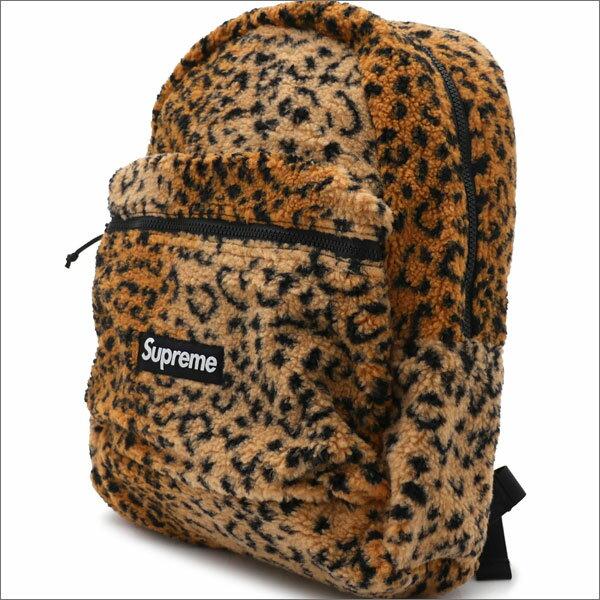 メンズバッグ, バックパック・リュック !!!! 117() 20!! SUPREME Leopard Fleece Backpack YELLOW 276000274018