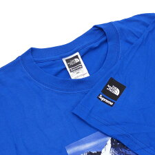SUPREME(シュプリーム)xTHENORTHFACE(ザ・ノースフェイス)MountainTee(Tシャツ)ROYAL200-007681-144+【新品】