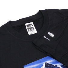 SUPREME(シュプリーム)xTHENORTHFACE(ザ・ノースフェイス)MountainTee(Tシャツ)BLACK200-007681-131+【新品】