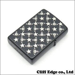 Vivienne Westwood STAR&ORB モノグラム ジッポライター BLACK 290-002733-011x
