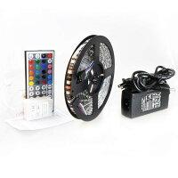 【送料無料】LEDテープライト5mACアダプターセット【イルミネーション装飾クリスマス】