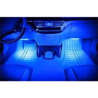 送料無料LEDフロアライト/LEDテープライトRGBイルミネーション音に反応モードリモコン操作