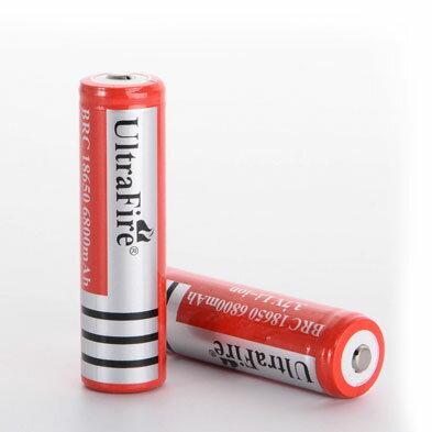 高容量 4200mah 18650 リチウムイオン 充電池 2本セット 4200mAh充電池