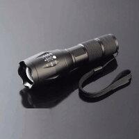 超強力CREEXML-L2懐中電灯搭載ズーム機能付ledライト2500ルーメン防滴加工ハンディライト