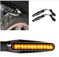 送料無料バイク汎用LEDシーケンシャルウインカー流れるウインカー4個セットICウィンカーリレー付