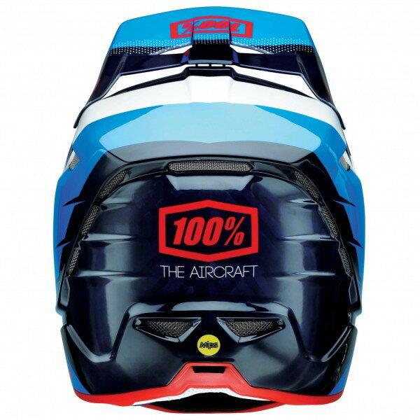 100% Aircraft DH Helmet incl. Mips(R8 Blue Carbon)